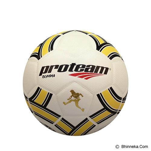 PROTEAM Bola Soccer Size 3 [Olympia] - Black/Yellow - Bola Sepak / Soccer Ball